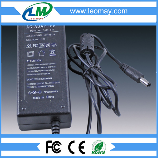 60W DC12V desktop Power Adaptor
