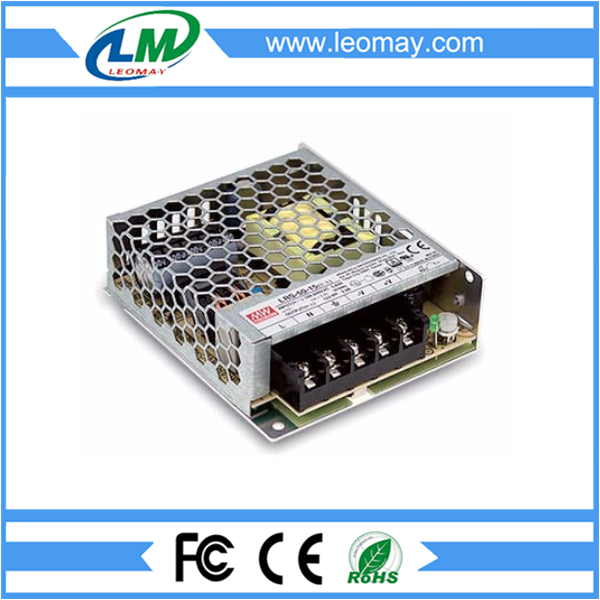 50W Meanwell Power Supply for Led Strips (Non-waterproof)