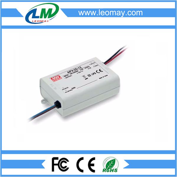 25W Meanwell Power Supply for Led Strips