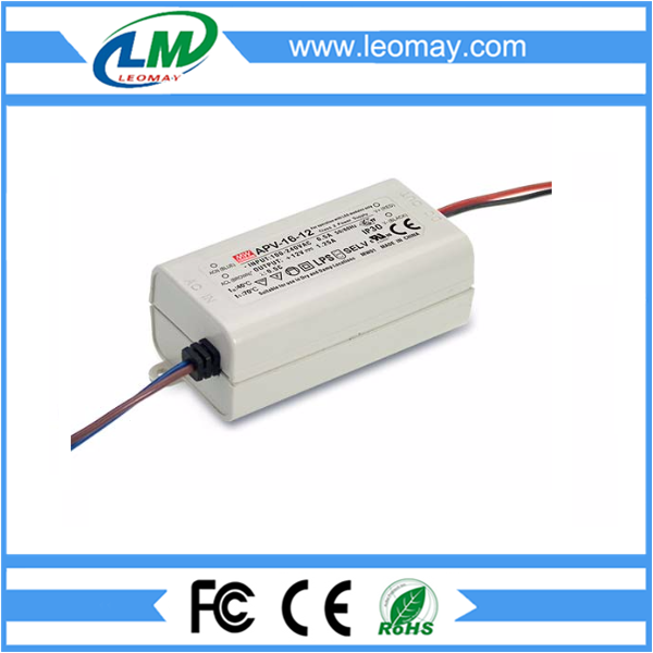 16W Meanwell Power Supply for Led Strips