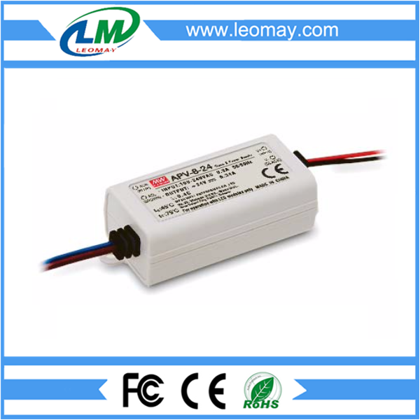 8W Meanwell Power Supply for Led Strips