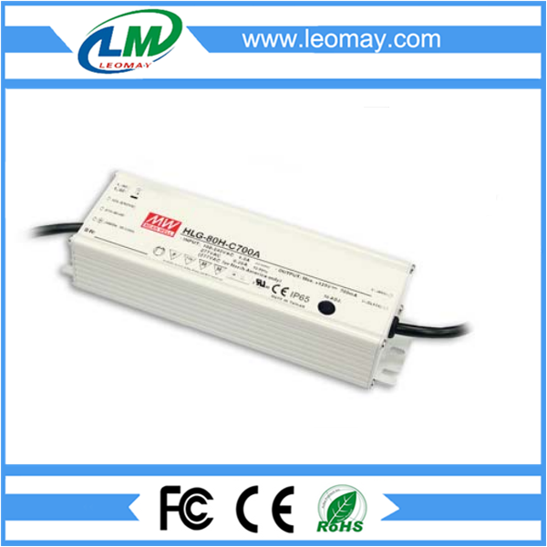 80W Meanwell Power Supply for Led Strips (waterproof)