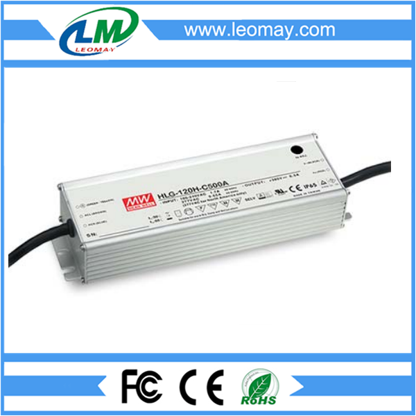 120W Meanwell Power Supply for Led Strips (waterproof)