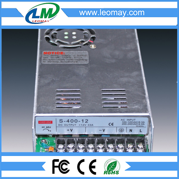 400W Power Supply for Led Strips (non-waterproof)