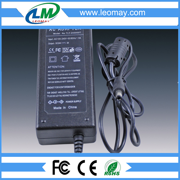 72W DC24V desktop Power Adaptor