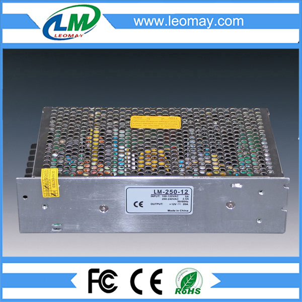 250W Power Supply for Led Strips (non-waterproof)