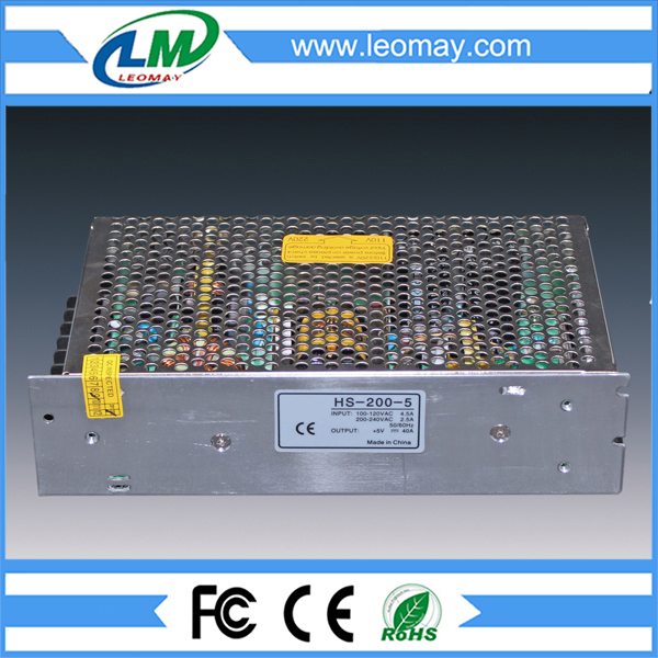 200W Power Supply for Led Strips (non-waterproof)