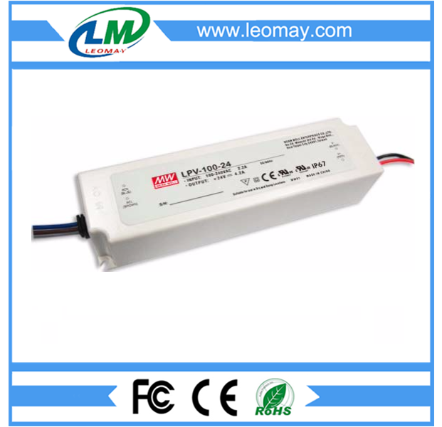 100W Meanwell Power Supply for Led Strips (waterproof)