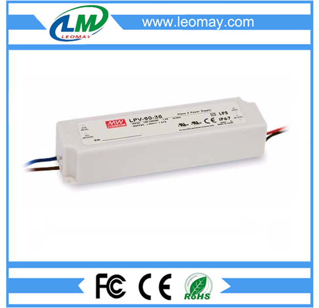60W Meanwell Power Supply for Led Strips (waterproof)