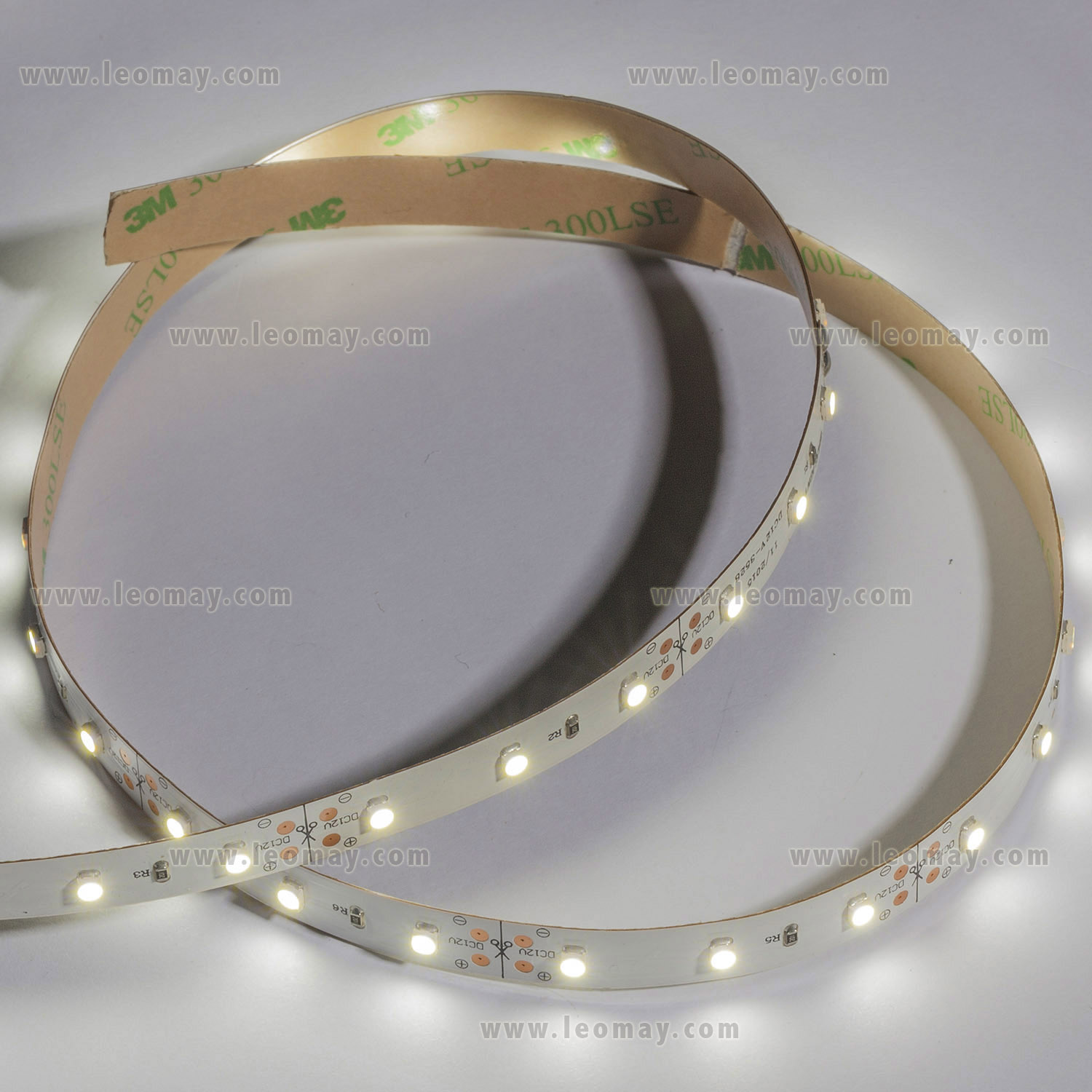 SMD3528 30leds/m DC12V LED strips(Non-waterproof)