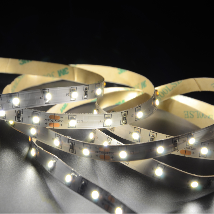 SMD3528 60leds/m DC24V LED strips(Non-waterproof)
