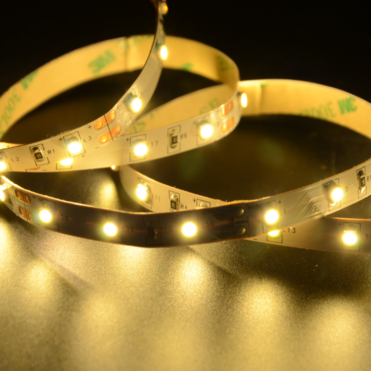 SMD3528 60leds/m DC12V LED strips(Non-waterproof)