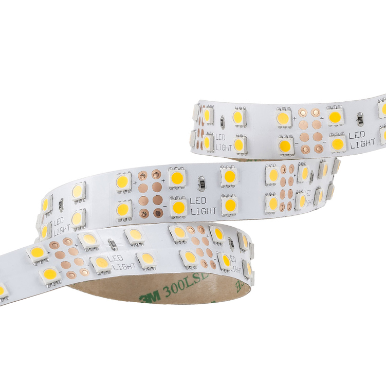 SMD5050 120leds/m DC24V LED strips(Non-waterproof)