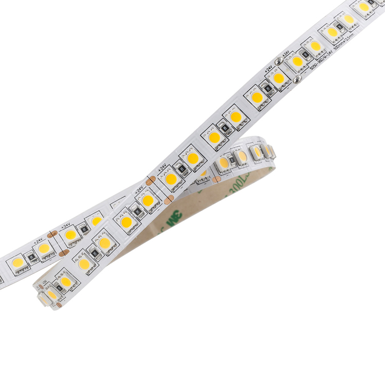 SMD5050 96leds/m DC24V LED strips(Non-waterproof)