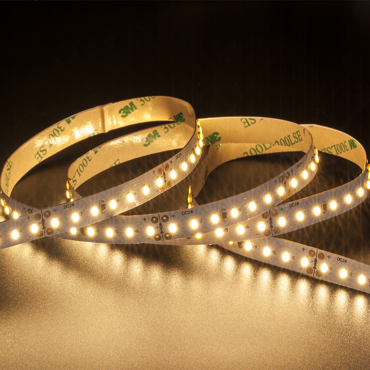 SMD3014 140leds/m 1LED/unit  DC24V LED strips(Non-waterproof)