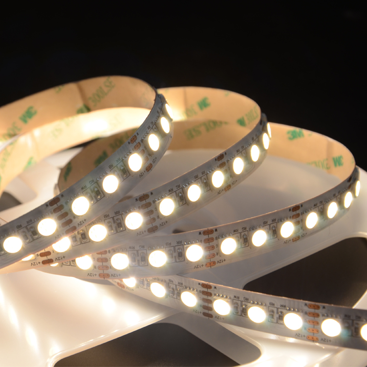 SMD5050 4in1 96leds/m DC12V LED strips(Non-waterproof)