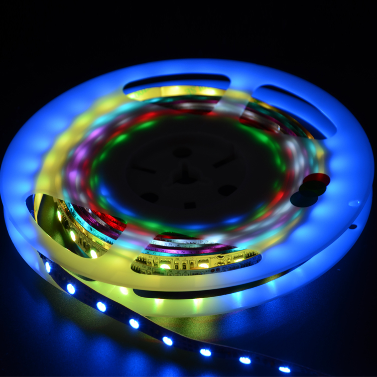 SMD5050 60leds/m DC12V Magic LED strips(Non-waterproof)