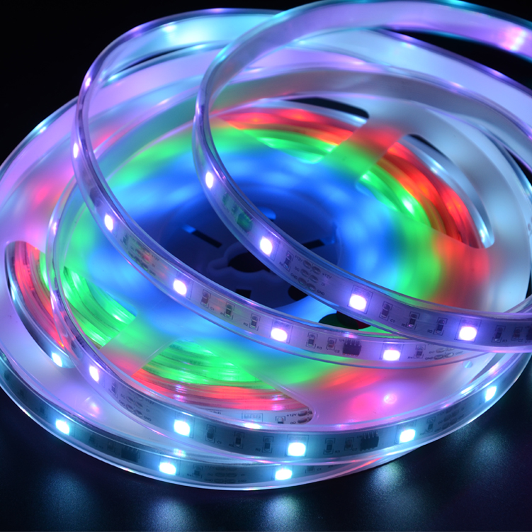 SMD5050 30leds/m DC12V Magic LED strips(Non-waterproof)