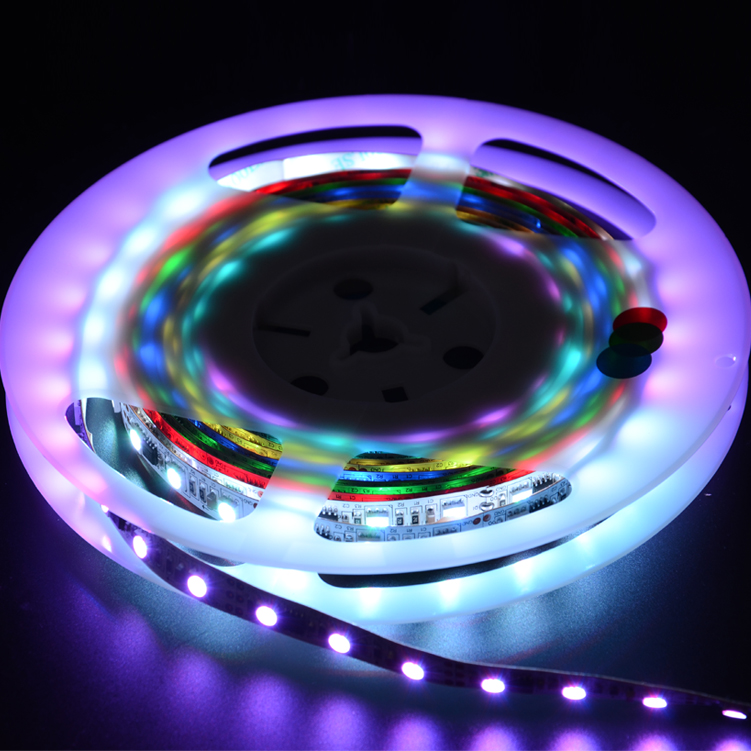 SMD5050 48leds/m DC12V Magic LED strips(Non-waterproof)