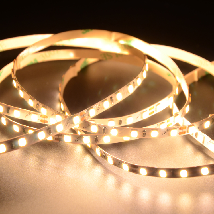 SMD2835 120leds/m DC24V 5MM LED strips(Non-waterproof)