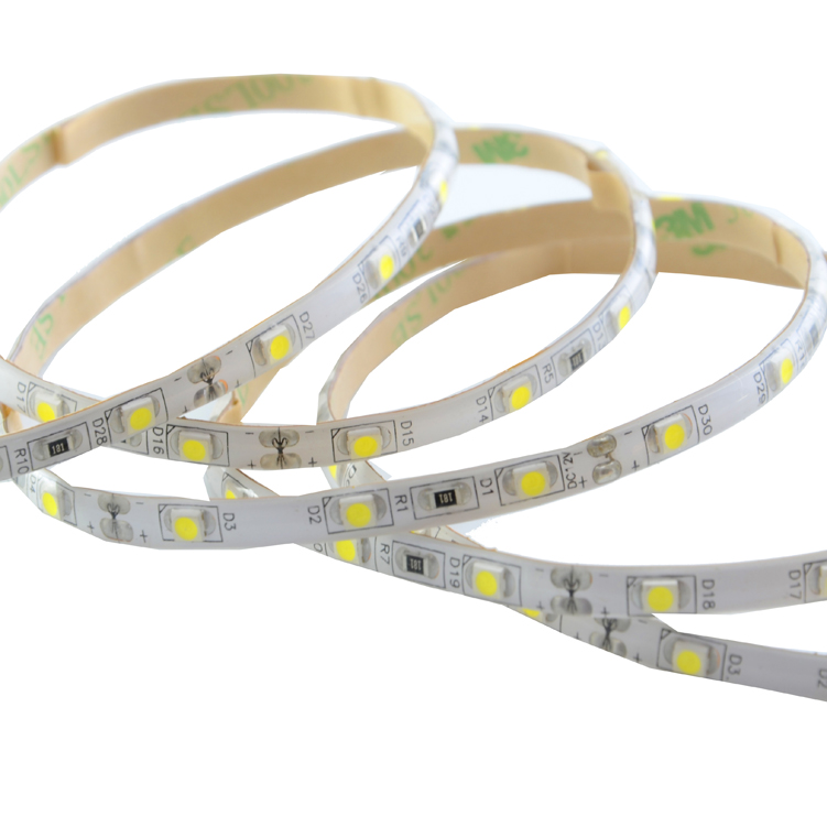 SMD3528 60leds/m DC12V 5MM LED strips(Non-waterproof)