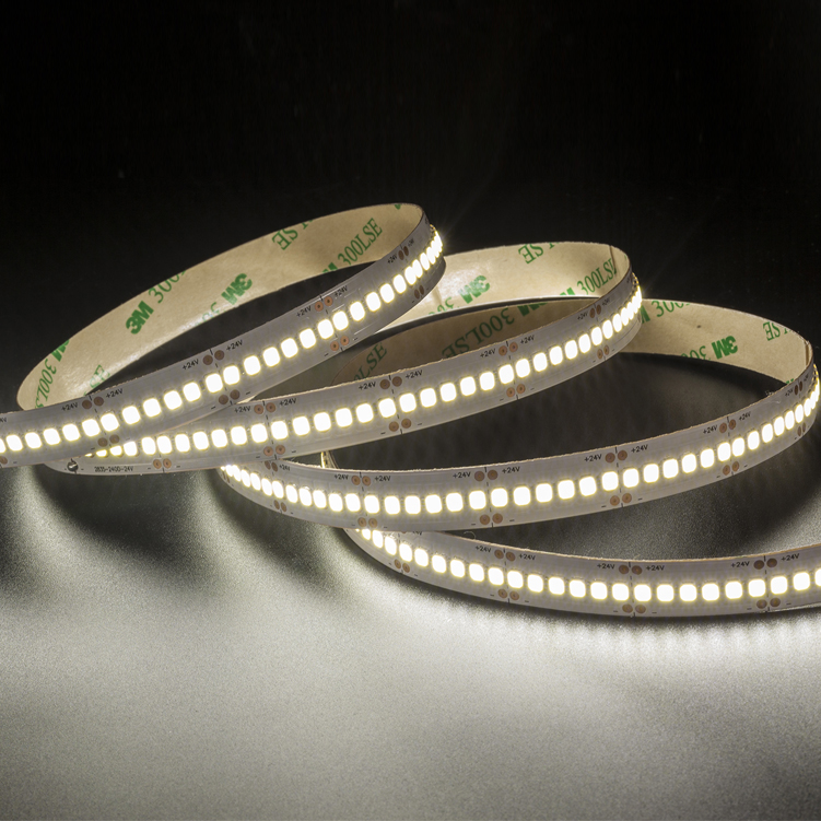 SMD2835  240leds/m  DC24V Single Row LED strips (Non-waterproof)