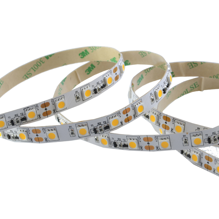 SMD5050 60leds/m DC12V Constant Current LED strips(Non-Waterproof)