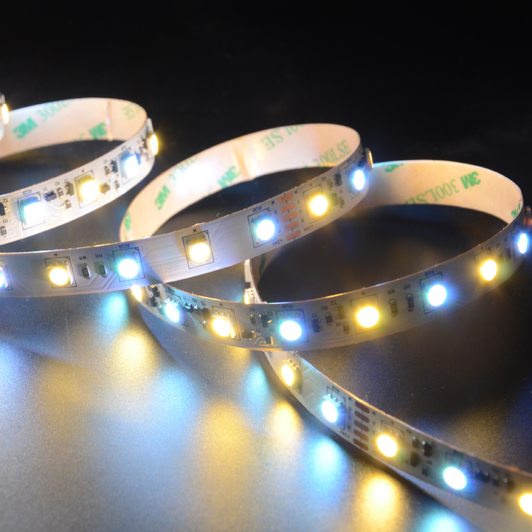 SMD5050 60leds/m RGBW DC24V Constant Current LED strips(Non-Waterproof)