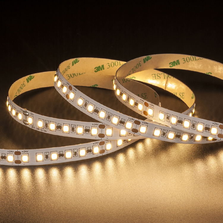 SMD2835 120leds/m DC24V Constant Current LED strips (Non-waterproof)