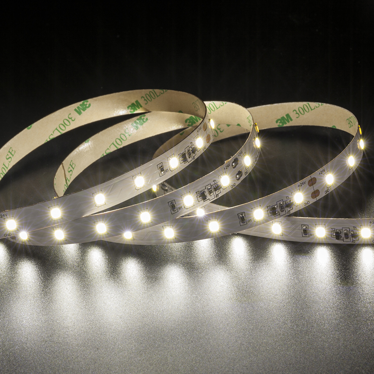 SMD2835 60leds/m DC24V Constant Current LED strips (Non-waterproof)