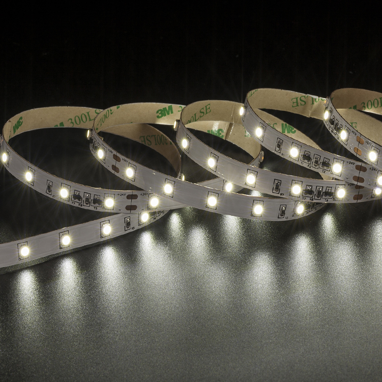SMD3528 60leds/m DC24V Constant Current LED strips(Non-waterproof)