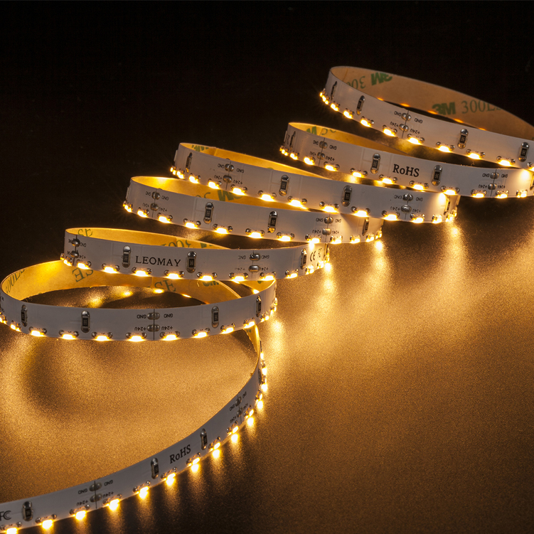 SMD335 120leds/m DC24V LED strips(Non-waterproof)