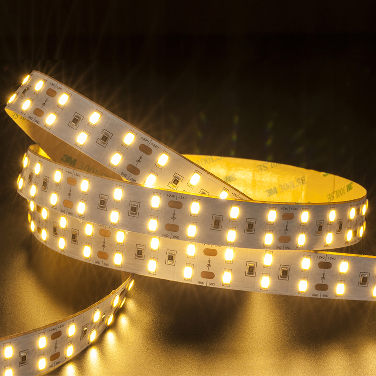SMD5730 120leds/m DC24V LED strips(Non-waterproof)