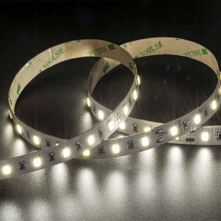 SMD5730 60leds/m DC24V LED strips(Non-waterproof)