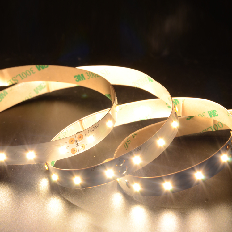 SMD3014 70leds/m DC24V LED Strips (Non-waterproof)