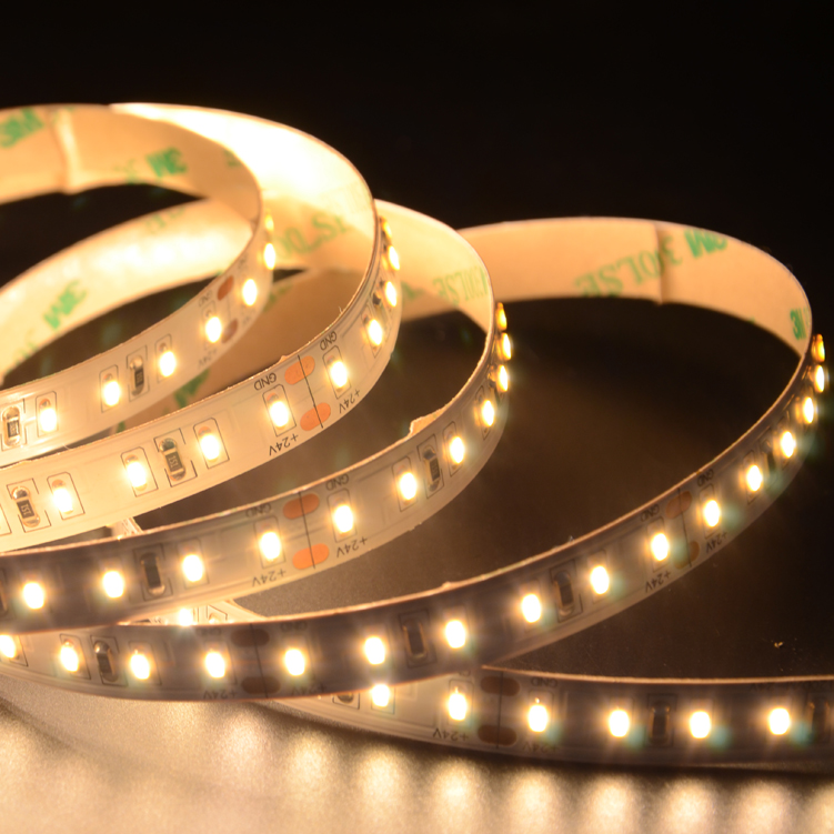 SMD3014 120leds/m DC24V LED strips(Non-waterproof)