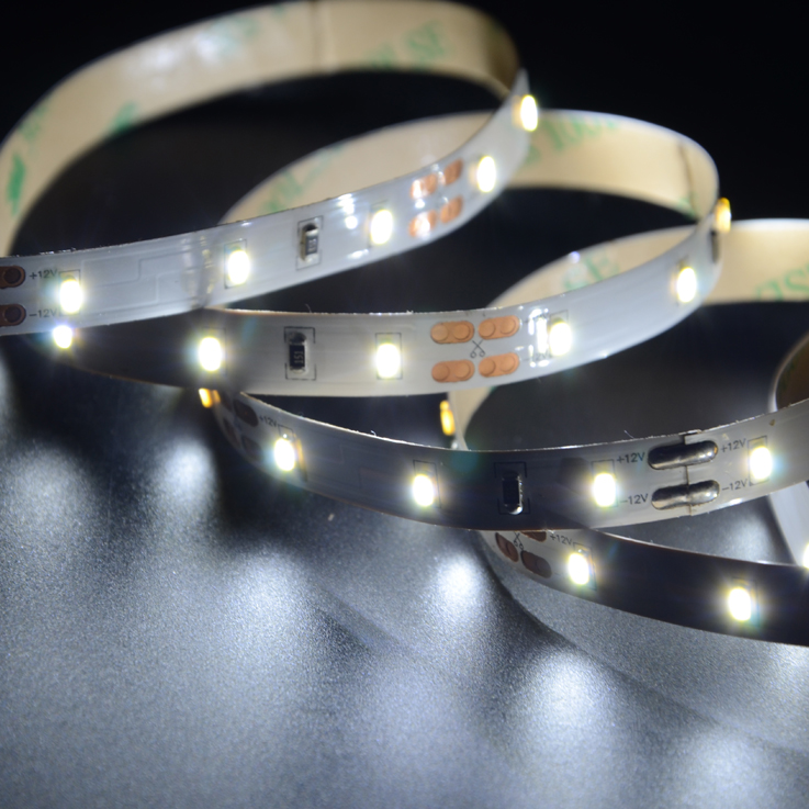 SMD3014 60leds/m DC12V LED strips(Non-waterproof)