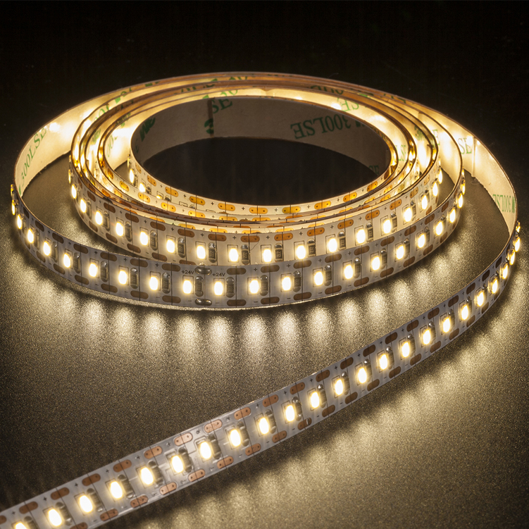 SMD3014 140leds/m DC24V LED strips(Non-waterproof)