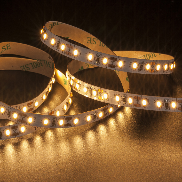 SMD3014 120leds/m DC12V LED strips(Non-waterproof)