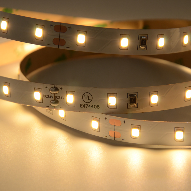 UL SMD2835  60leds/m  DC24V LED strips(Non-waterproof)