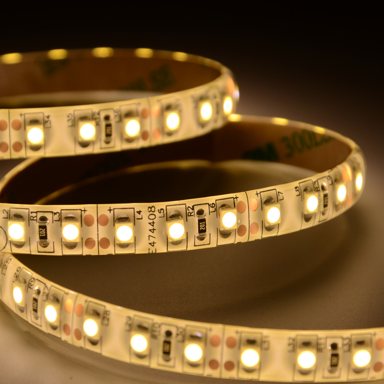 UL SMD3528 120leds/m DC12V IP65  LED strips(IP65 PU glue)