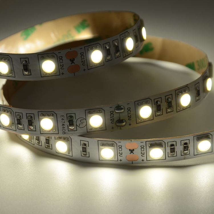 UL SMD5050 60leds/m DC12V LED strips(Non-waterproof)