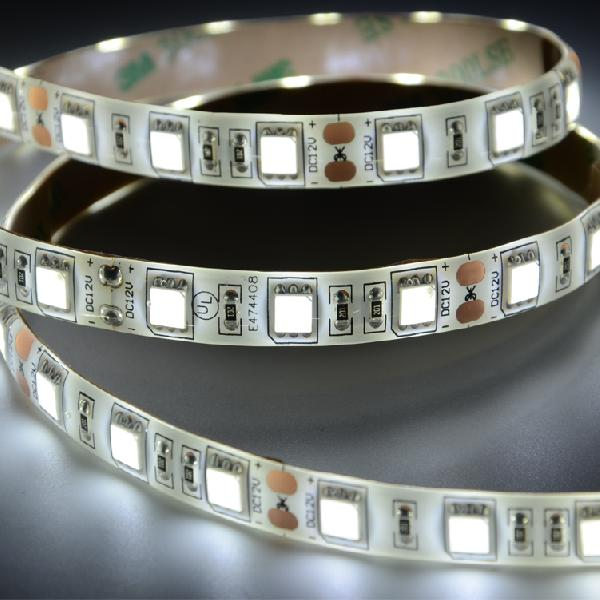 UL SMD5050 60leds/m DC12V  IP65 LED strips(IP65 PU glue)