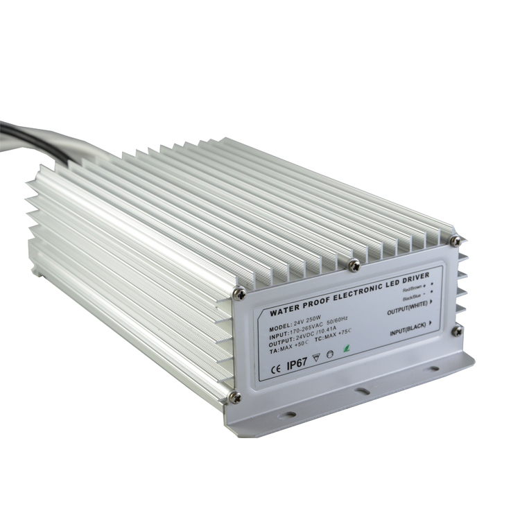250W 24V Power Supply for Led Strips (waterproof)