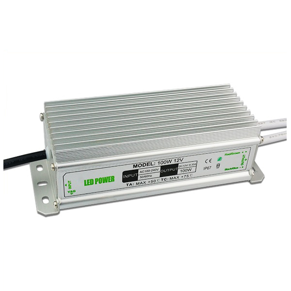 100W 12V Power Supply for Led Strips (waterproof)