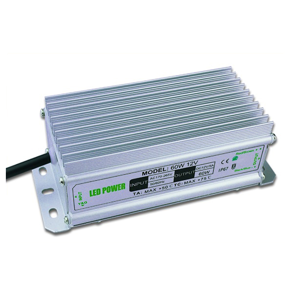 60W 12V Power Supply for Led Strips (waterproof)