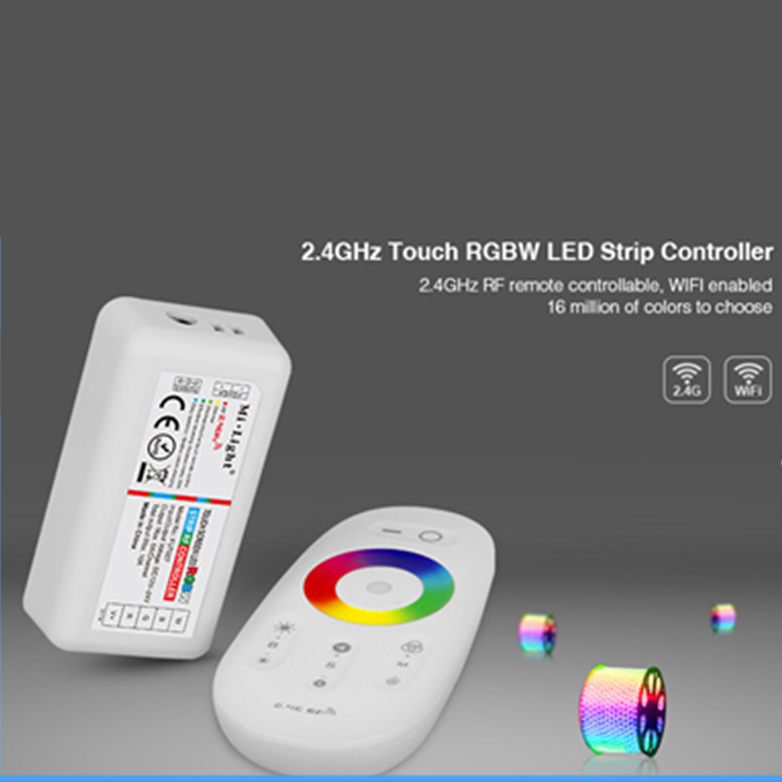 DC 12V/24V 4 Zone RGBW LED Strip Controller with Touch Screen