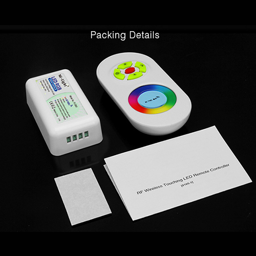 DC 12V/24V 2.4G RGB Controller with Touch Screen