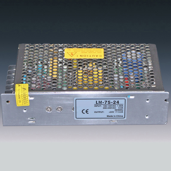 75W Power Supply for Led Strips (non-waterproof)