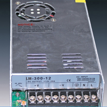 300W Power Supply for Led Strips (non-waterproof)